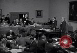 Image of court hearing a case on gangster Frank Costello United States USA, 1951, second 9 stock footage video 65675035801