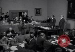 Image of court hearing a case on gangster Frank Costello United States USA, 1951, second 10 stock footage video 65675035801