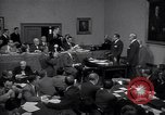 Image of court hearing a case on gangster Frank Costello United States USA, 1951, second 11 stock footage video 65675035801