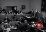 Image of court hearing a case on gangster Frank Costello United States USA, 1951, second 12 stock footage video 65675035801