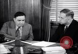 Image of meeting between Mayor of NY and secretory interior Washington DC USA, 1937, second 3 stock footage video 65675035814