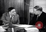 Image of meeting between Mayor of NY and secretory interior Washington DC USA, 1937, second 6 stock footage video 65675035814