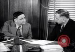 Image of meeting between Mayor of NY and secretory interior Washington DC USA, 1937, second 7 stock footage video 65675035814