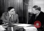 Image of meeting between Mayor of NY and secretory interior Washington DC USA, 1937, second 8 stock footage video 65675035814