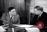 Image of meeting between Mayor of NY and secretory interior Washington DC USA, 1937, second 9 stock footage video 65675035814
