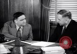 Image of meeting between Mayor of NY and secretory interior Washington DC USA, 1937, second 10 stock footage video 65675035814