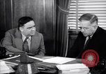 Image of meeting between Mayor of NY and secretory interior Washington DC USA, 1937, second 11 stock footage video 65675035814