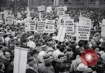 Image of Mayor of New York addresses striking electrical workers New York United States USA, 1937, second 2 stock footage video 65675035817