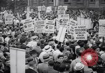 Image of Mayor of New York addresses striking electrical workers New York United States USA, 1937, second 3 stock footage video 65675035817