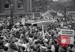 Image of Mayor of New York addresses striking electrical workers New York United States USA, 1937, second 9 stock footage video 65675035817