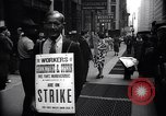 Image of Kneepants manufacturers on a strike New York United States USA, 1937, second 4 stock footage video 65675035818
