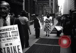Image of Kneepants manufacturers on a strike New York United States USA, 1937, second 5 stock footage video 65675035818