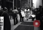 Image of Kneepants manufacturers on a strike New York United States USA, 1937, second 6 stock footage video 65675035818