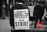 Image of Kneepants manufacturers on a strike New York United States USA, 1937, second 11 stock footage video 65675035818