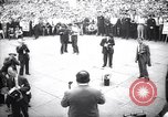 Image of Mayor of New York Fiorello LaGuardia during his address New York United States USA, 1937, second 2 stock footage video 65675035819