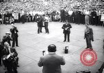 Image of Mayor of New York Fiorello LaGuardia during his address New York United States USA, 1937, second 3 stock footage video 65675035819