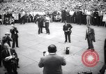 Image of Mayor of New York Fiorello LaGuardia during his address New York United States USA, 1937, second 4 stock footage video 65675035819