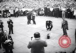 Image of Mayor of New York Fiorello LaGuardia during his address New York United States USA, 1937, second 7 stock footage video 65675035819