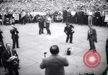 Image of Mayor of New York Fiorello LaGuardia during his address New York United States USA, 1937, second 8 stock footage video 65675035819