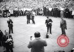 Image of Mayor of New York Fiorello LaGuardia during his address New York United States USA, 1937, second 10 stock footage video 65675035819