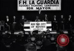 Image of election campaign of F H LaGuardia for the mayor of New York New York United States USA, 1934, second 2 stock footage video 65675035821