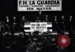 Image of election campaign of F H LaGuardia for the mayor of New York New York United States USA, 1934, second 3 stock footage video 65675035821