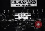 Image of election campaign of F H LaGuardia for the mayor of New York New York United States USA, 1934, second 9 stock footage video 65675035821