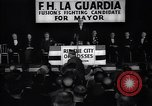 Image of election campaign of F H LaGuardia for the mayor of New York New York United States USA, 1934, second 12 stock footage video 65675035821