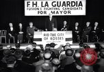 Image of welcome of F H LaGuardia at his election campaign New York United States USA, 1934, second 1 stock footage video 65675035822