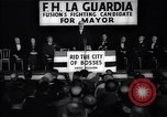 Image of welcome of F H LaGuardia at his election campaign New York United States USA, 1934, second 2 stock footage video 65675035822