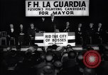 Image of welcome of F H LaGuardia at his election campaign New York United States USA, 1934, second 9 stock footage video 65675035822