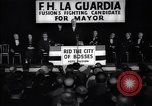 Image of welcome of F H LaGuardia at his election campaign New York United States USA, 1934, second 11 stock footage video 65675035822