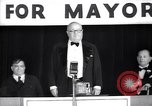 Image of speech of F H LaGuardia during mayor elections New York United States USA, 1934, second 1 stock footage video 65675035824