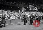 Image of Mayor LaGuardia of New York inaugurates a baseball match Bronx New York City USA, 1937, second 3 stock footage video 65675035826
