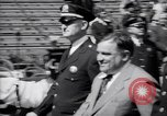 Image of Mayor LaGuardia of New York inaugurates a baseball match Bronx New York City USA, 1937, second 9 stock footage video 65675035826