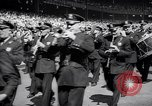Image of Mayor LaGuardia of New York inaugurates a baseball match Bronx New York City USA, 1937, second 11 stock footage video 65675035826