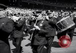 Image of Mayor LaGuardia of New York inaugurates a baseball match Bronx New York City USA, 1937, second 12 stock footage video 65675035826
