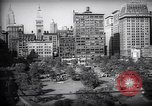 Image of Tammany Hall Union Square and nearby buildings New York United States USA, 1937, second 10 stock footage video 65675035828