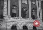 Image of view of the entrance of Society of Tammany of Columbian Order or the T New York United States USA, 1937, second 10 stock footage video 65675035830