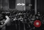 Image of Mayor of New York Fiorello LaGuardia chairs a conference New York United States USA, 1937, second 10 stock footage video 65675035831