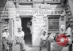 Image of barber shop New York United States USA, 1939, second 1 stock footage video 65675035837