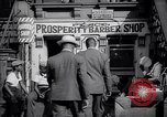 Image of barber shop New York United States USA, 1939, second 9 stock footage video 65675035837
