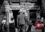 Image of barber shop New York United States USA, 1939, second 10 stock footage video 65675035837