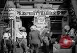 Image of barber shop New York United States USA, 1939, second 12 stock footage video 65675035837