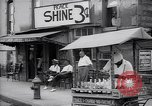 Image of Snow ball cart New York United States USA, 1939, second 8 stock footage video 65675035844