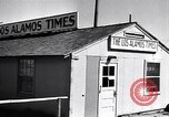Image of Los Alamos Times Newspaper printing operation New Mexico United States USA, 1949, second 3 stock footage video 65675035849