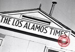 Image of Los Alamos Times Newspaper printing operation New Mexico United States USA, 1949, second 6 stock footage video 65675035849