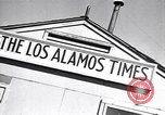 Image of Los Alamos Times Newspaper printing operation New Mexico United States USA, 1949, second 8 stock footage video 65675035849