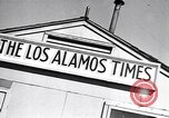 Image of Los Alamos Times Newspaper printing operation New Mexico United States USA, 1949, second 11 stock footage video 65675035849