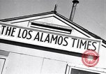 Image of Los Alamos Times Newspaper printing operation New Mexico United States USA, 1949, second 12 stock footage video 65675035849